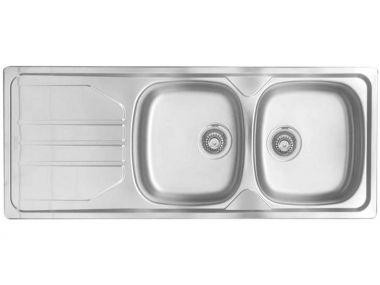 Franke Nouveau Double Kitchen Sink - 460 x 1160mm