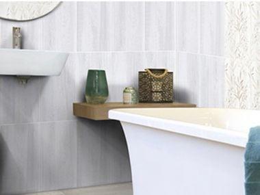 Silver Birch Grey Matt Ceramic Wall Tile - 400 x 250mm